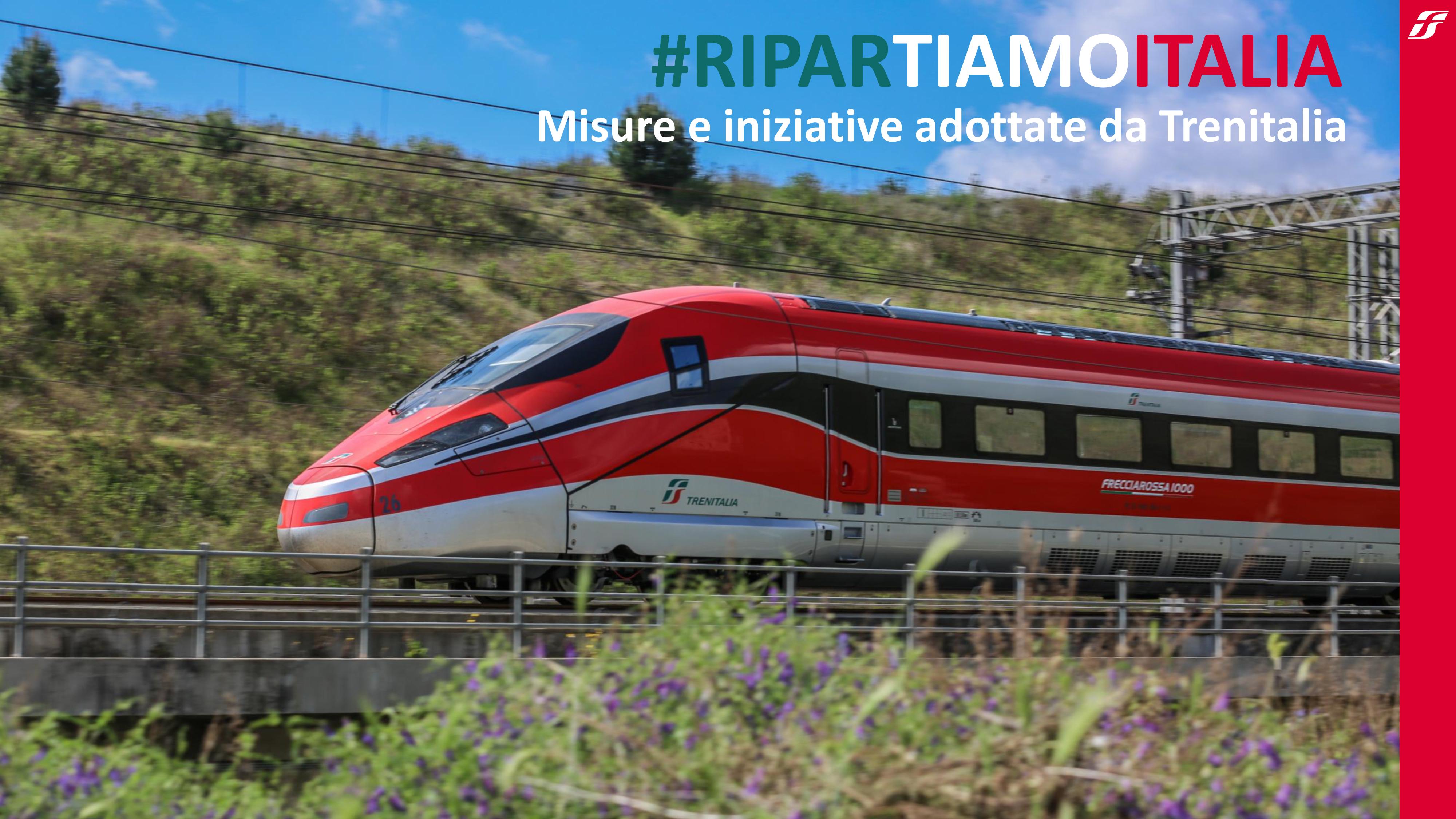 Calendario Cartafreccia 2021 Unirete: #RiparTIAMOItalia – Presentate da Trenitalia le