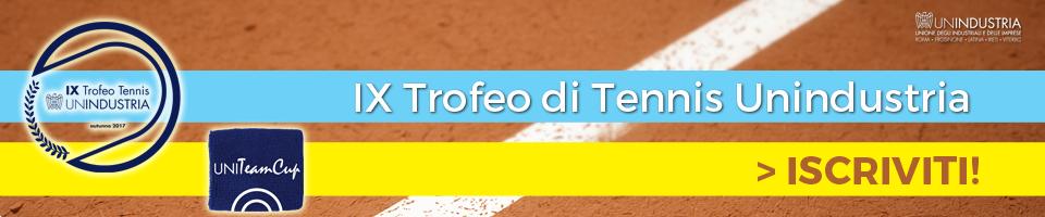 Trofeotennis It Calendario Tornei.Unindustria Unione Degli Industriali E Delle Imprese